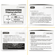 Picture of Dymo - 30256 PINK Shipping Labels (8 Rolls – Shipping Included)