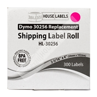 Picture of Dymo - 30256 PINK Shipping Labels (12 Rolls – Shipping Included)