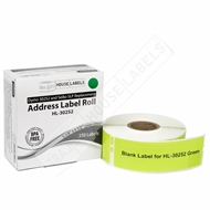 Picture of Dymo - 30252 GREEN Address Labels