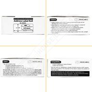 Picture of Dymo - 30252 GREEN Address Labels (16 Rolls - Shipping Included)