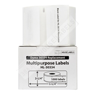 Picture of Dymo - 30334 Multipurpose Labels with Removable Adhesive (20 Rolls - Shipping Included)