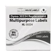 Picture of Dymo - 30334 Multipurpose Labels with Removable Adhesive (28 Rolls - Shipping Included)