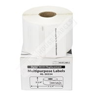 Picture of Dymo - 30334 Multipurpose Labels with Removable Adhesive (50 Rolls - Shipping Included)