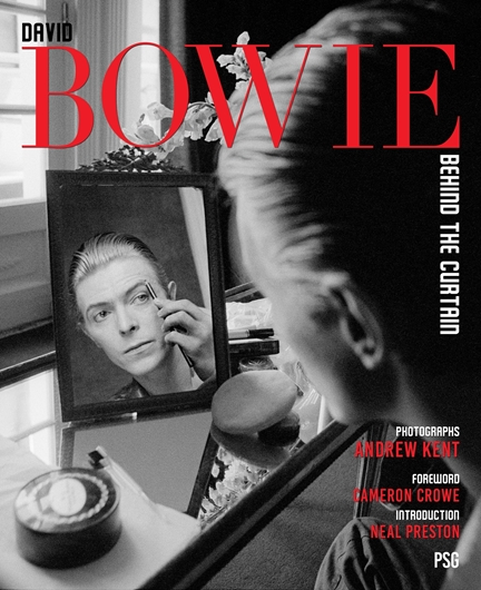 Picture of BOWIE : David Bowie - Behind the Curtain
