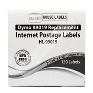 Picture of Dymo - 99019 1-Part eBay and PayPal Internet Postage Labels (50 Rolls – Shipping Included)
