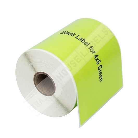 Picture of Zebra – 4 x 6 GREEN (6 Rolls – Shipping Included)