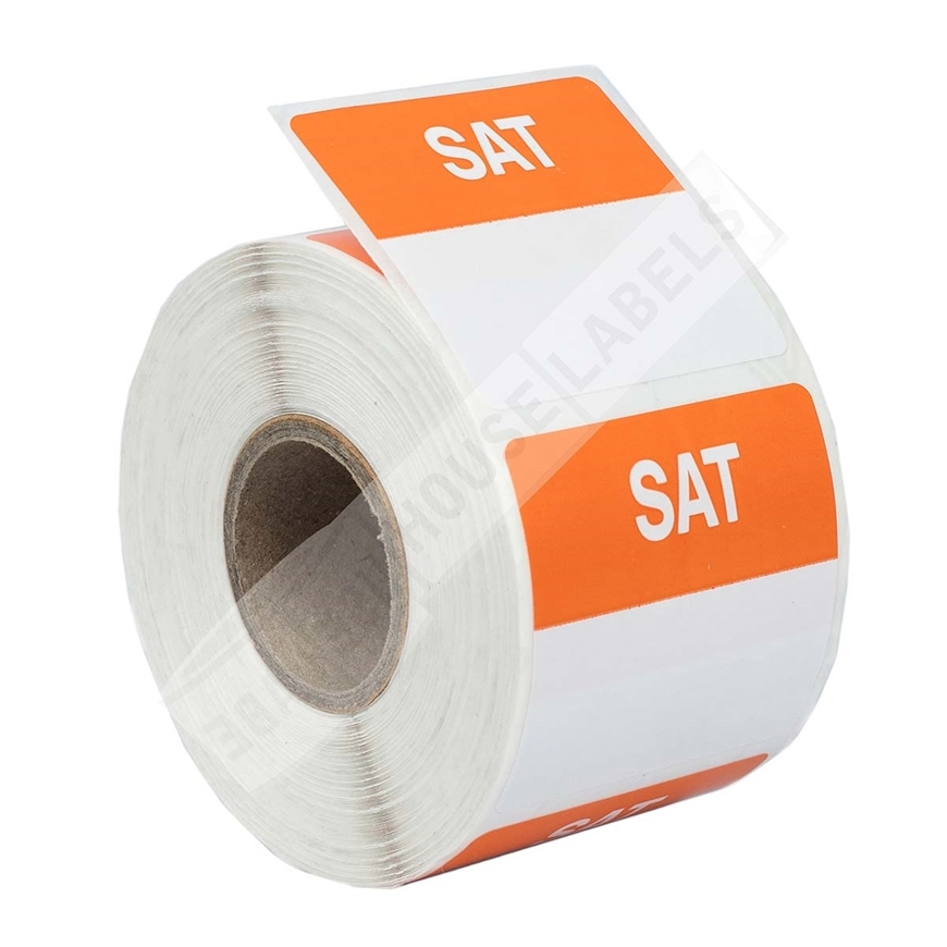 Picture of Day Of The Week - Saturday (7 Rolls - Free Shipping)