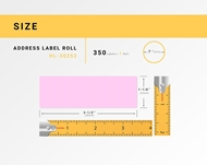 Picture of Dymo - 30252 PINK Address Labels (36 Rolls - Shipping Included)