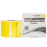 Picture of Dymo - 30334 YELLOW Multipurpose Labels