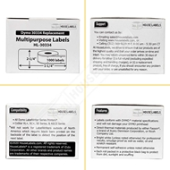 Picture of Dymo - 30334 YELLOW Multipurpose Labels (6 Rolls - Shipping Included)