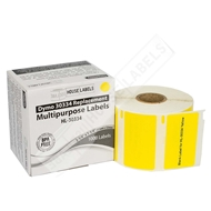 Picture of Dymo - 30334 YELLOW Multipurpose Labels (28 Rolls - Shipping Included)