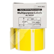 Picture of Dymo - 30334 YELLOW Multipurpose Labels (50 Rolls - Shipping Included)