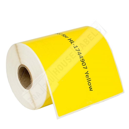 Picture of Dymo - 1744907 YELLOW Shipping Labels (4 Rolls - Shipping Included)