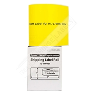 Picture of Dymo - 1744907 YELLOW Shipping Labels (19 Rolls - Shipping Included)