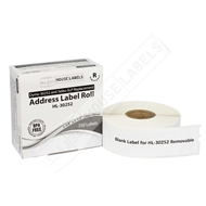 Picture of Dymo - 30252 Address Labels with Removable Adhesive (16 Rolls - Shipping Included)
