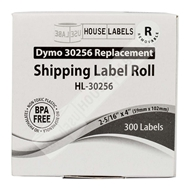 Picture of Dymo - 30256 Shipping Labels with Removable Adhesive (12 Rolls – Shipping Included)