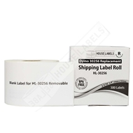 Picture of Dymo - 30256 Shipping Labels with Removable Adhesive (50 Rolls – Shipping Included)