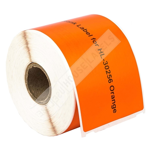 Picture of Dymo - 30256 ORANGE Shipping Labels (8 Rolls – Shipping Included)