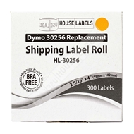 Picture of Dymo - 30256 ORANGE Shipping Labels (12 Rolls – Shipping Included)