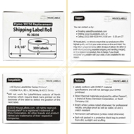 Picture of Dymo - 30256 ORANGE Shipping Labels (25 Rolls – Shipping Included)