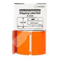 Picture of Dymo - 30256 ORANGE Shipping Labels (50 Rolls – Shipping Included)