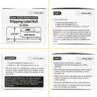 Picture of Dymo - 30256 GREEN Shipping Labels (25 Rolls – Shipping Included)