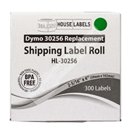 Picture of Dymo - 30256 GREEN Shipping Labels (32 Rolls – Shipping Included)
