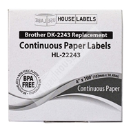 Picture of Brother DK-2243 (4 Rolls – Shipping Included)