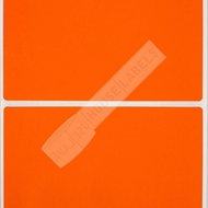 Picture of Zebra – 4 x 6 ORANGE (6 Rolls – Shipping Included)