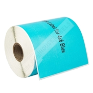 Picture of Zebra – 4 x 6 BLUE (2 Rolls – Shipping Included)