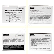 Picture of Dymo - 30334 Multipurpose Labels in Polypropylene (6 Rolls – Shipping Included)