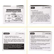 Picture of Dymo - 30384 2-Part Internet Postage Labels (18 Rolls – Shipping Included)