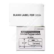 Picture of Dymo - 30384 2-Part Internet Postage Labels (32 Rolls – Shipping Included)