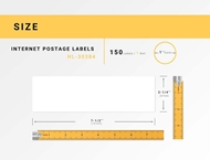 Picture of Dymo - 30384 2-Part Internet Postage Labels