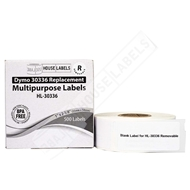 Picture of Dymo - 30336 Multipurpose Labels with Removable Adhesive (24 Rolls – Shipping Included)