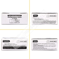 Picture of Dymo - 30336 Multipurpose Labels with Removable Adhesive (100 Rolls – Shipping Included)