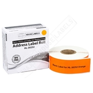 Picture of Dymo - 30252 ORANGE Address Labels (36 Rolls - Shipping Included)