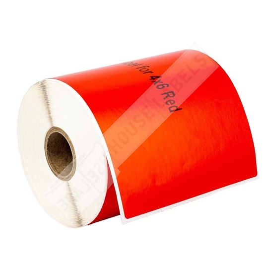 Picture of Zebra – 4 x 6 RED (4 Rolls – Shipping Included)