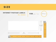 Picture of Dymo - 30383 3-Part Internet Postage Labels (8 Rolls – Shipping Included)