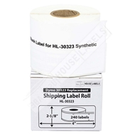 Picture of Dymo - 30323 Shipping Labels in Polypropylene (15 Rolls – Shipping Included)