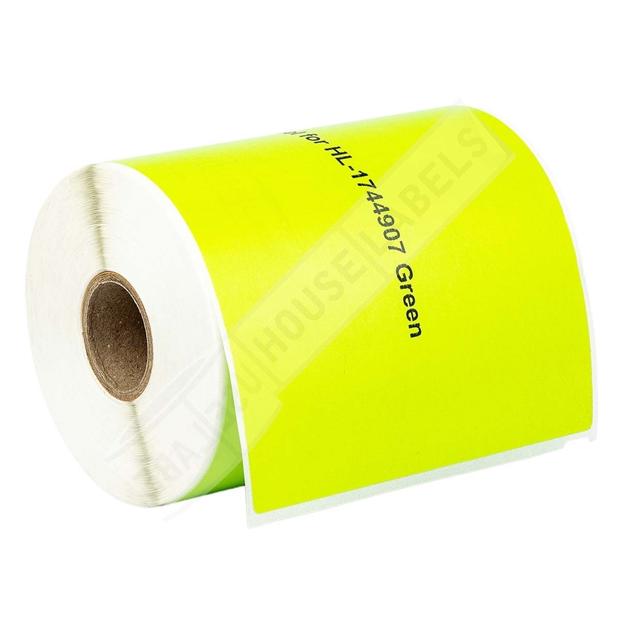 Picture of Dymo - 1744907 GREEN Shipping Labels (6 Rolls - Shipping Included)