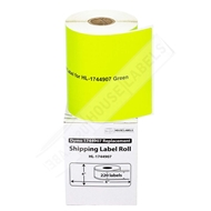 Picture of Dymo - 1744907 GREEN Shipping Labels (15 Rolls - Shipping Included)