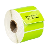 Picture of Zebra – 2.25 x 1.25 GREEN (50 Rolls – Shipping Included)