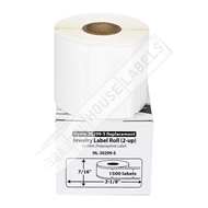 Picture of Dymo - 30299 Barbell-style Price Tag Labels in Polypropylene