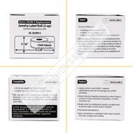 Picture of Dymo - 30299 Barbell-style Price Tag Labels in Polypropylene (12 Rolls – Shipping Included)