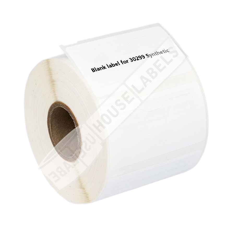 Picture of Dymo - 30299 Barbell-style Price Tag Labels in Polypropylene (18 Rolls – Shipping Included)