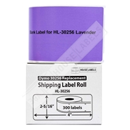 Picture of Dymo - 30256 LAVENDER Shipping Labels (12 Rolls – Shipping Included)