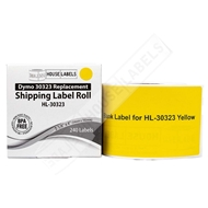 Picture of Dymo - 30323 YELLOW Shipping Labels