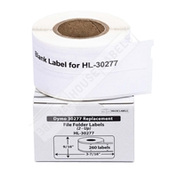 Picture of Dymo - 30277 File Folder 2-up Labels (48 Rolls – Shipping Included)