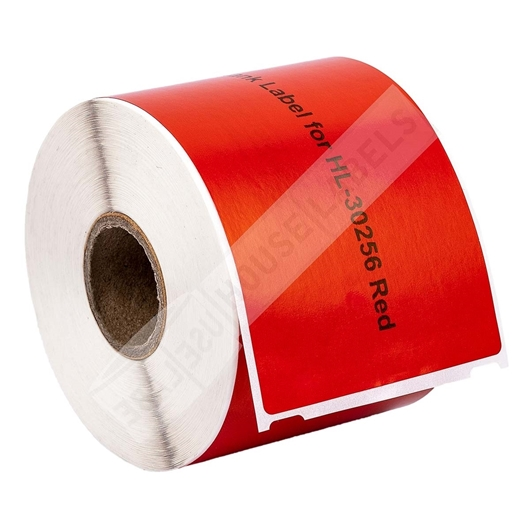Picture of Dymo - 30256 RED Shipping Labels (25 Rolls – Shipping Included)